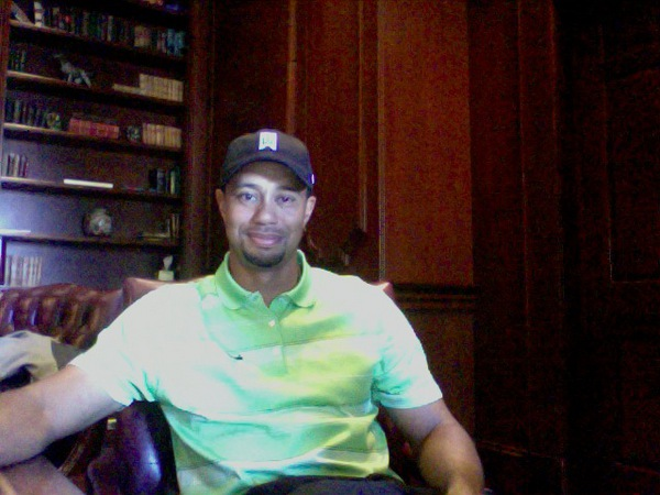 Tiger Woods Twitter Q&A Session