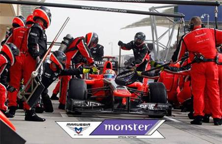 Monster and Marussia F1™ Team search for Social Media Driver