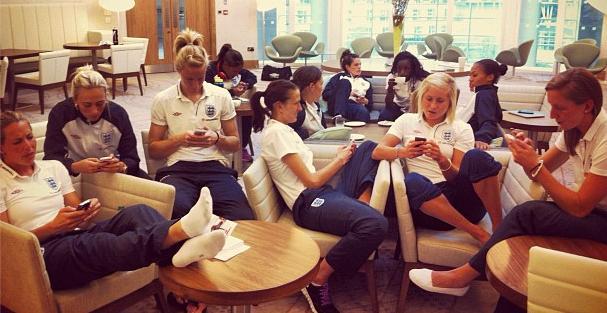 Women's Football Kicks the Men's Digital Backsides (again)