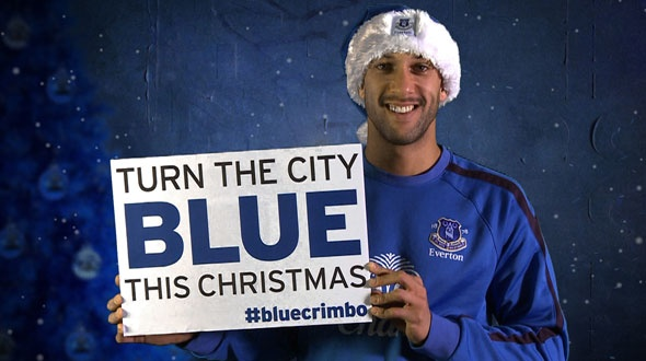 Everton: Turning The City Blue This Christmas
