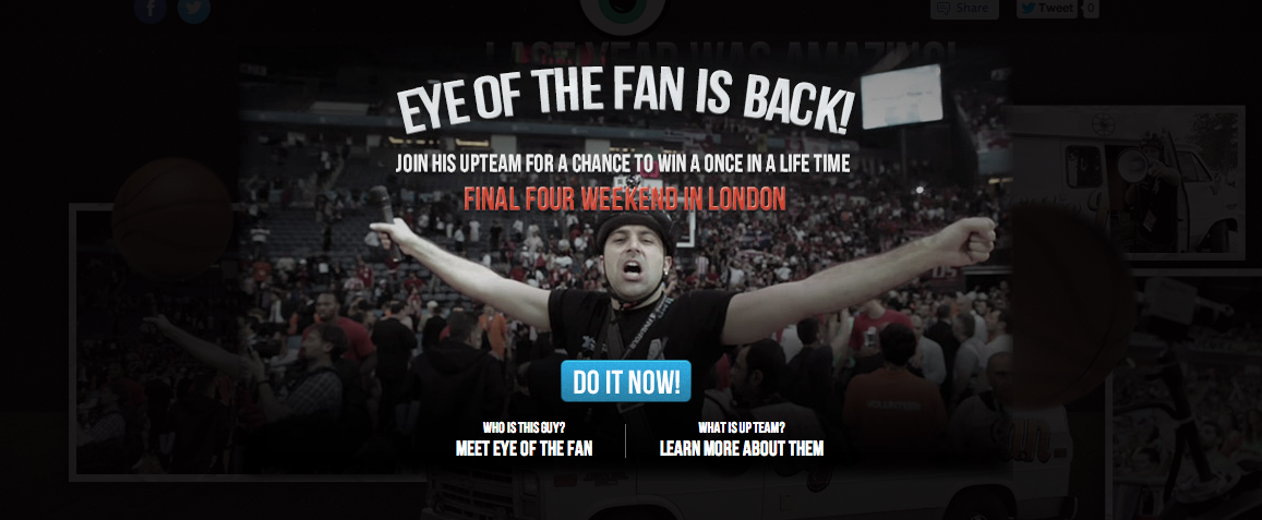 See Basketball Through the 'Eye Of The Fan'