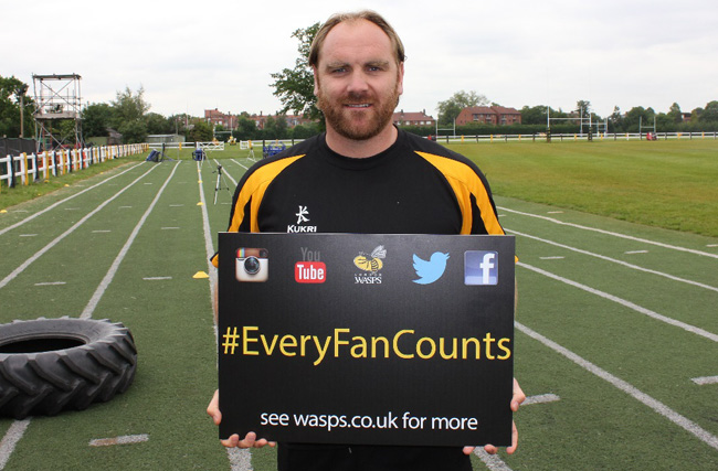 London Wasps Launch Digital Supporters' Campaign