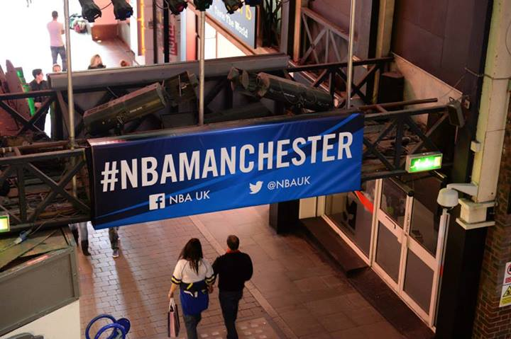 Social media highs and lows of NBA Manchester