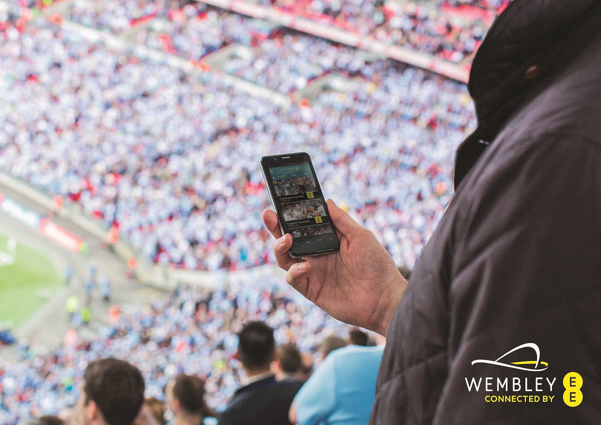 Wembley Stadium launches first mobile app to mark new partnership with EE