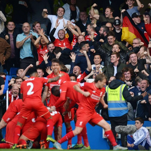 Liverpool are Premier League Champions… in Social Media