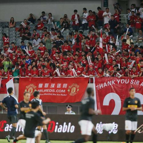 Football giant seals deal with Chinese media platform
