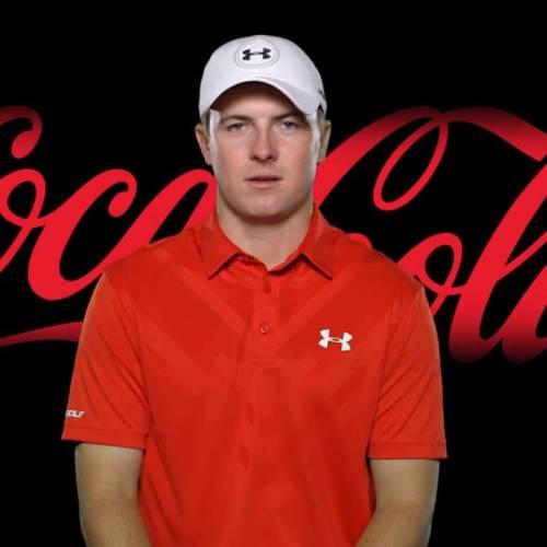 Jordan Spieth signs a massive deal with Coca-Cola