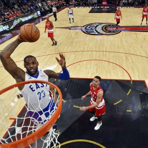 LeBron crowned NBA's social media King