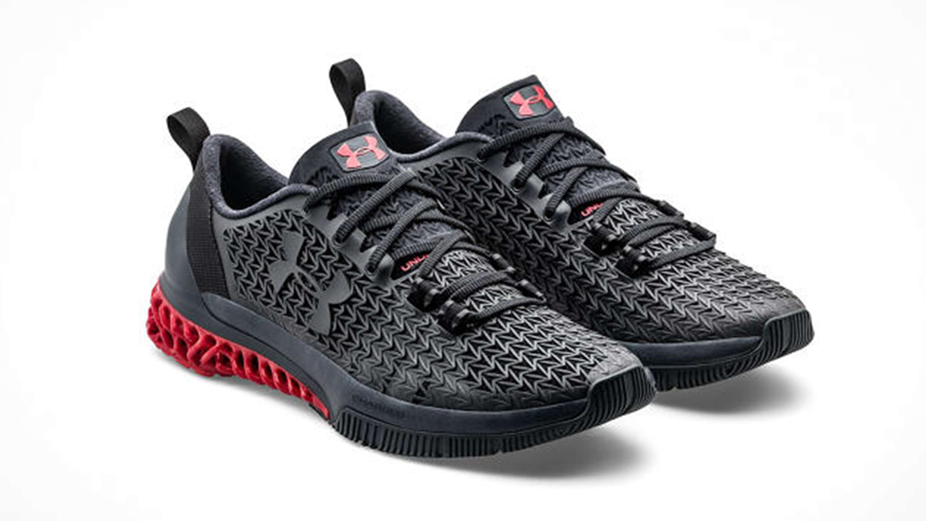 Under Armour Charged Phenom  Running Shoes Mens Black