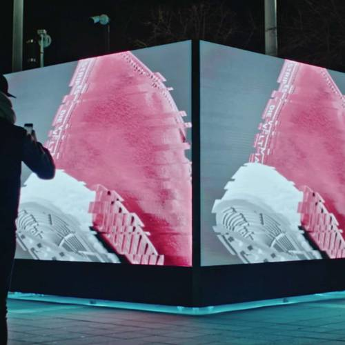 adidas Originals connects Europe via interactive cubes
