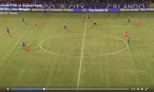 US Soccer superstar broadcasts whole game via Facebook Live