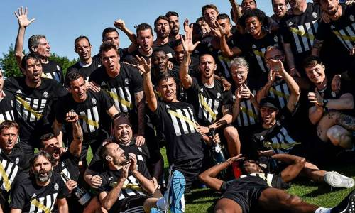 Juventus goes mad on social media following title win