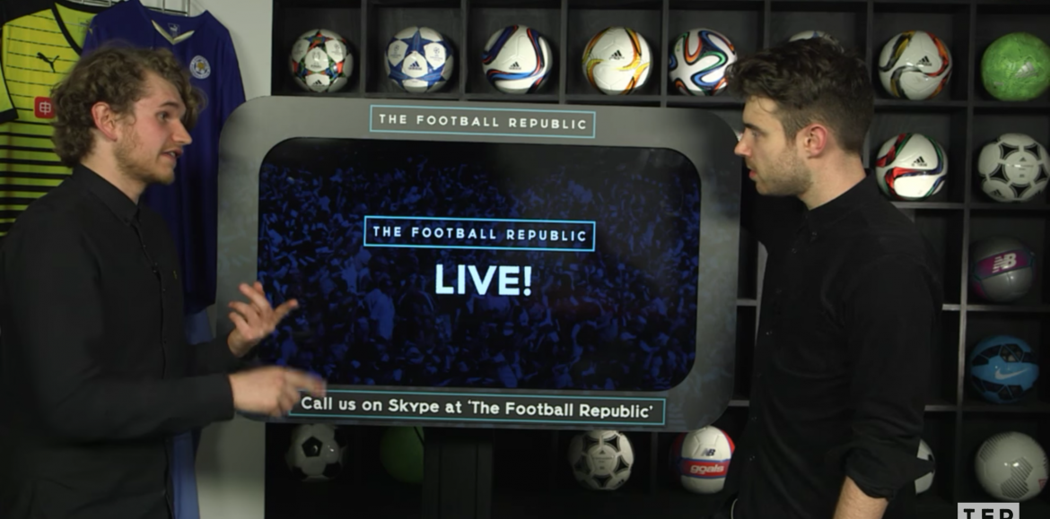 Shotglass Media's Neil Smythe on The Football Republic and the buzz of Live Streaming