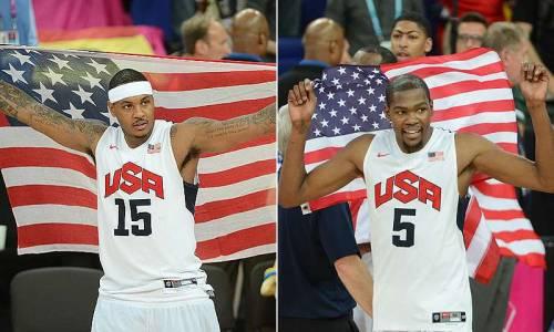 USA Basketball reveals team via social