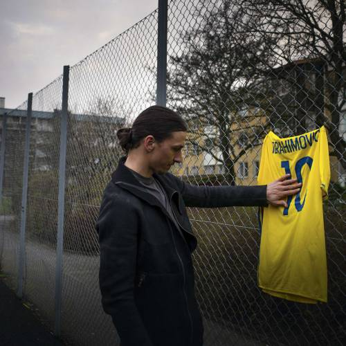 Ibrahimovic says emotional goodbye to Swedish national team in Volvo's latest film