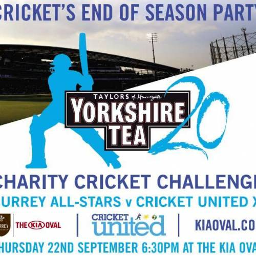 Dark Horses to join cricket's end of season party at The Oval