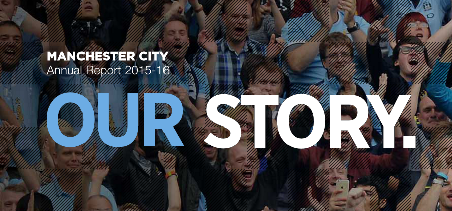 Man City demonstrate dedication to fans on digital with sleek annual report