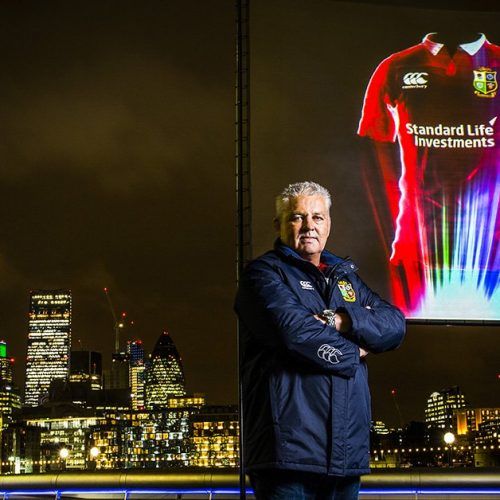 Holograms and smartphones – Canterbury launch British & Irish Lions kit in spectacular fashion