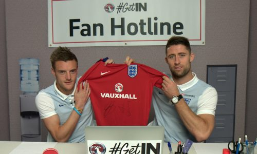 Vauxhall surprise football fans with '#GetIn Fan Hotline'