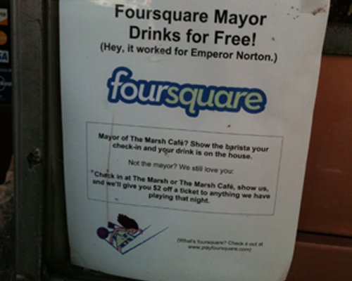 Is Sport Ready For Foursquare?