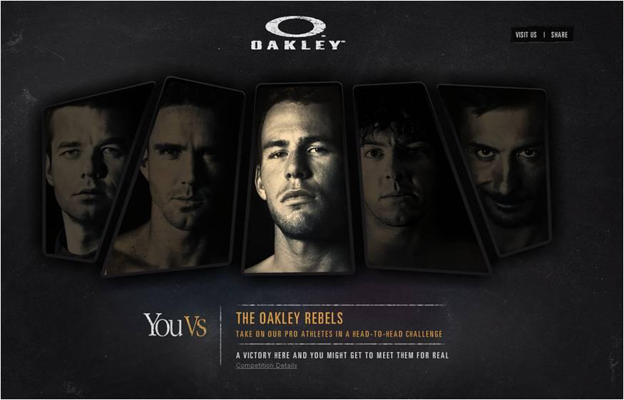 Great Digital Campign by Oakley – 'You Vs' Mark Cavendish
