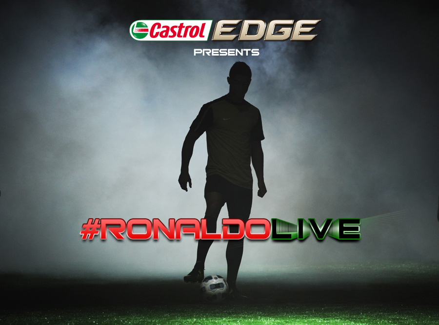 #RonaldoLIVE – fans get chance to challenge Real Madrid star