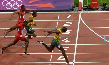 Tweets per minute breaks 100k for 100m Final