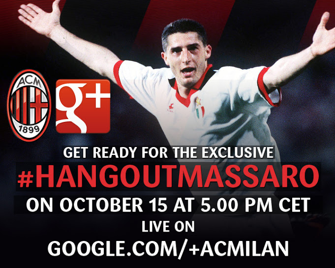 AC Milan to host first Google+ Hangout with Daniele Massaro