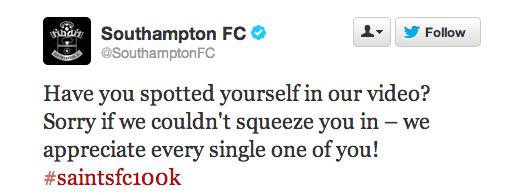 Southampton Twitter