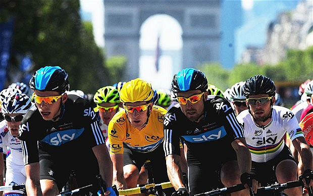 Who's Leading the Tour de France Social Media Race – Stages 1-9 [Infographic]