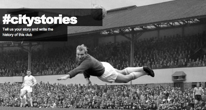 Man City Invite Fans To Crowdsource Club History With #CityStories