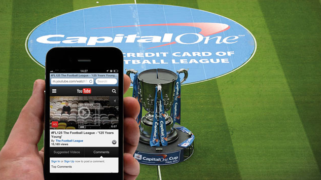 Football League and YouTube Launch New Partnership