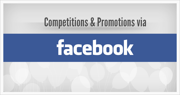 Facebook open up to allow Competitions on Page Walls