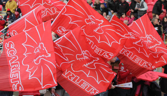 Scarlets Rugby bring Season Ticket flyer to life using AR