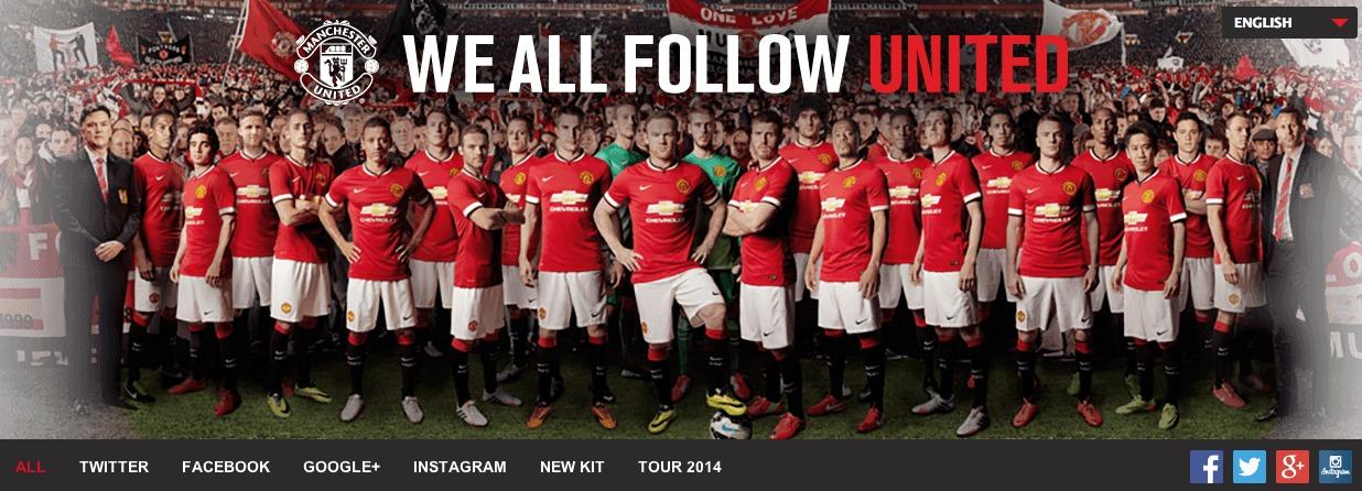 Man Utd Social Hub