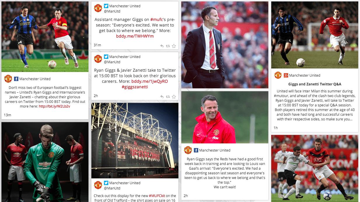 Man Utd Social Media Hub