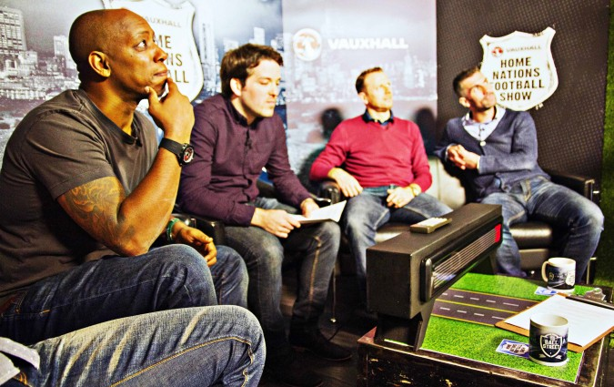 Ball Street and Vauxhall launch new 'Home Nations Football Show'