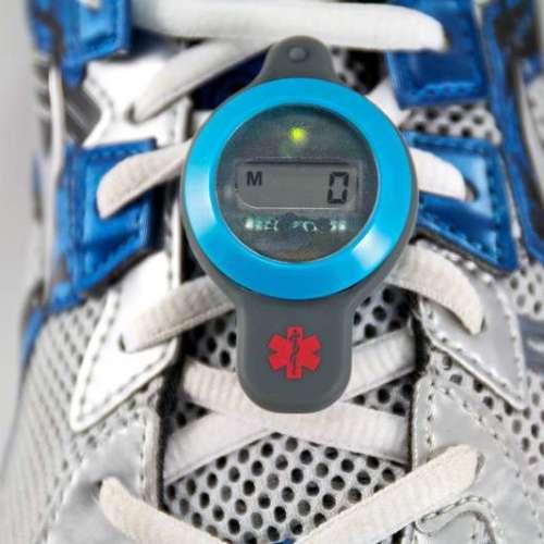 The MilestonePod – A shoelace worn wearable!