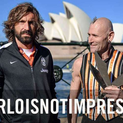 #PirloIsNotImpressed – the case study