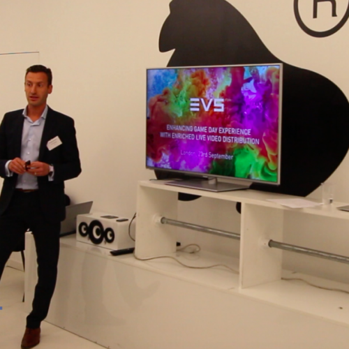 #DSLondon Talk 1 – 'Enhancing the game day experience' with EVS
