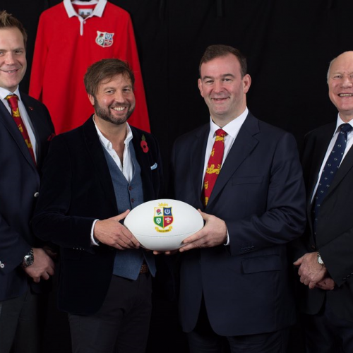 Canterbury become new British and Irish Lions official apparel sponsor