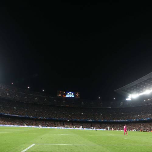 Camp Nou naming rights up for grabs