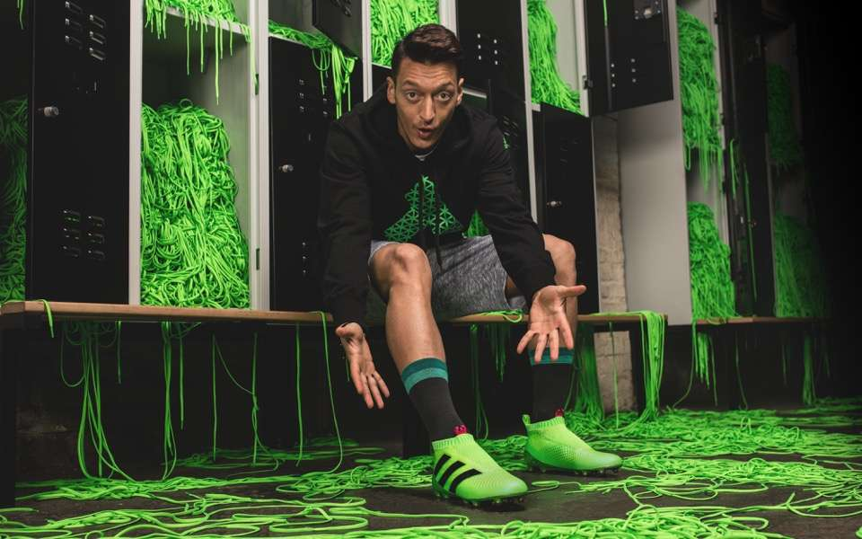Adidas launches boots without laces