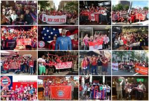 FC Bayern US fan clubs