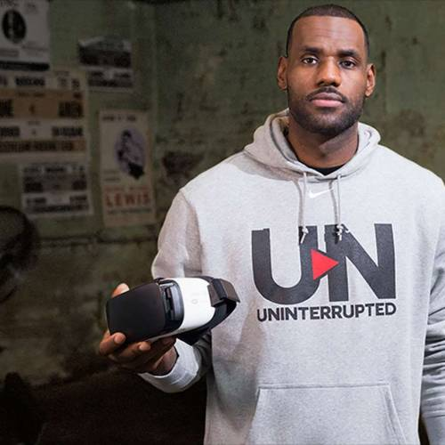 LeBron James launches his own Virtual Reality experience