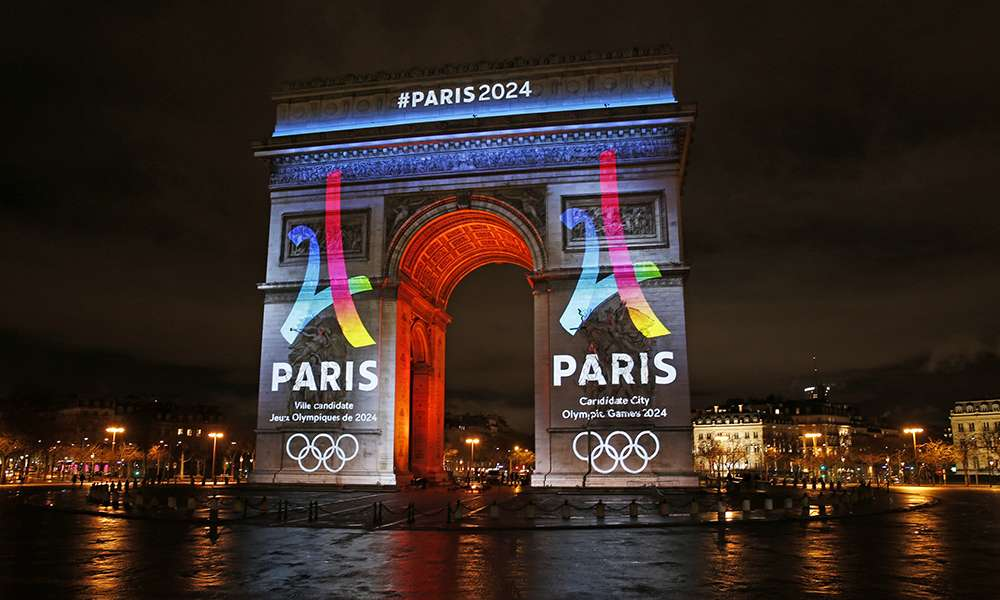 paris unveils its 2024 olympics logo digital sport. Black Bedroom Furniture Sets. Home Design Ideas