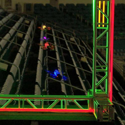 The first ever Drone Racing League is launched
