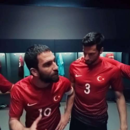 Nike immerses football fans in Arda Turan's speech in 360-degree