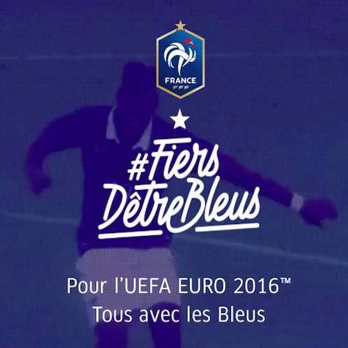 """French Football Federation launches """"Proud to be Blue"""" campaign"""