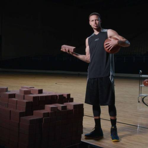 Three-points from Steph Curry mean three-second ad for Under Armour